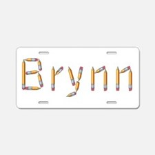 Brynn Pencils Aluminum License Plate
