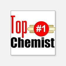 "Top Chemist Square Sticker 3"" x 3"""