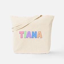 Tiana Rainbow Pastel Tote Bag