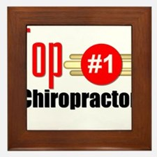 Top Chiropractor Framed Tile