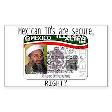 Osama Matriculas Consular Decal