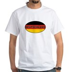 Germany White T-Shirt
