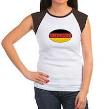 Germany Women's Cap Sleeve T-Shirt