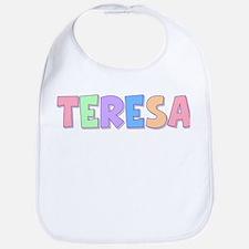 Teresa Rainbow Pastel Bib