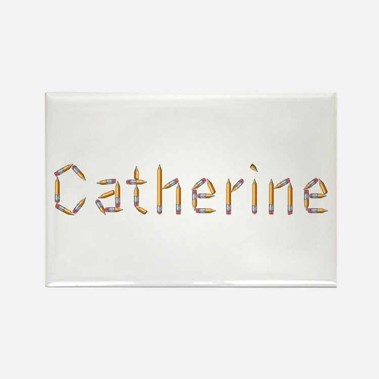 Catherine Pencils Rectangle Magnet