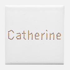 Catherine Pencils Tile Coaster