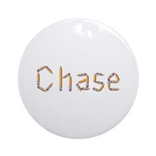 Chase Pencils Round Ornament