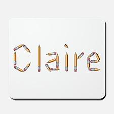 Claire Pencils Mousepad