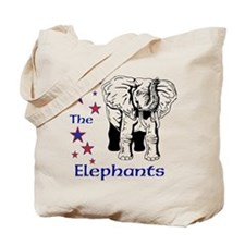 Elephant Rescue In Thailand Tote Bag