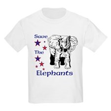 Elephant Rescue In Thailand T-Shirt