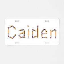 Caiden Pencils Aluminum License Plate
