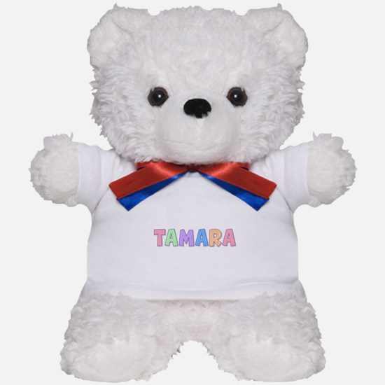 Tamara Rainbow Pastel Teddy Bear