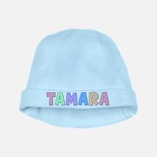 Tamara Rainbow Pastel baby hat
