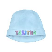 Tabitha Rainbow Pastel baby hat
