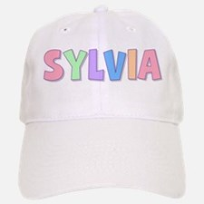 Sylvia Rainbow Pastel Baseball Baseball Cap