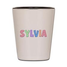 Sylvia Rainbow Pastel Shot Glass