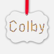 Colby Pencils Ornament