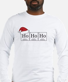 Ho Ho Ho [Chemical Elements] Long Sleeve T-Shirt