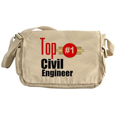 Top Civil Engineer Messenger Bag