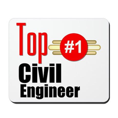Top Civil Engineer Mousepad