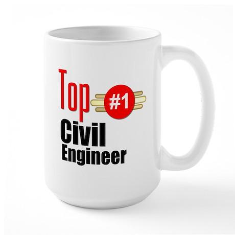 Top Civil Engineer Large Mug