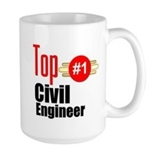 Top Civil Engineer Mug