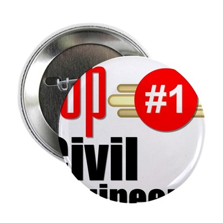"""Top Civil Engineer 2.25"""" Button"""