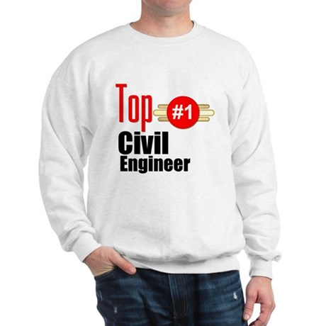 Top Civil Engineer Sweatshirt