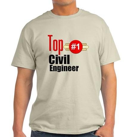 Top Civil Engineer Light T-Shirt