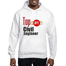 Top Civil Engineer Hoodie