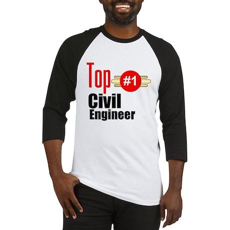 Top Civil Engineer Baseball Jersey
