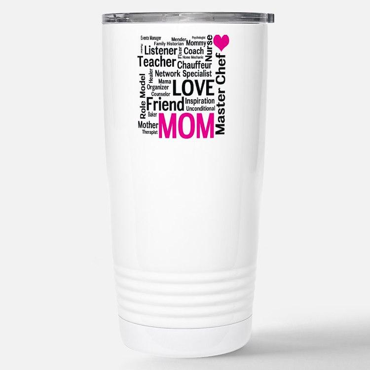 Cute Mom chef Travel Mug