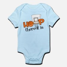 Hoop There It Is Infant Bodysuit