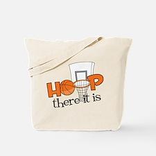 Hoop There It Is Tote Bag