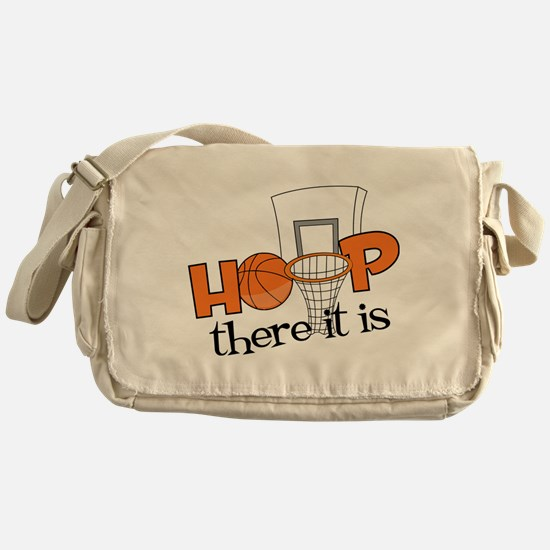 Hoop There It Is Messenger Bag
