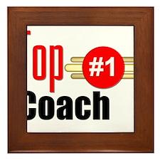 Top Coach Framed Tile