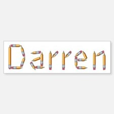 Darren Pencils Bumper Bumper Bumper Sticker