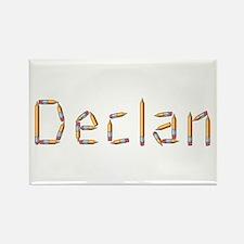 Declan Pencils Rectangle Magnet