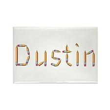 Dustin Pencils Rectangle Magnet