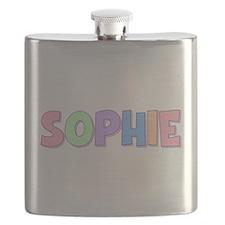 Sophie Rainbow Pastel Flask