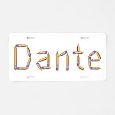 Dante Pencils Aluminum License Plate