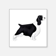 "English Springer Spaniel Square Sticker 3"" x"