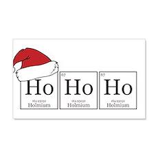 Ho Ho Ho [Chemical Elements] Wall Decal