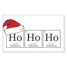Ho Ho Ho [Chemical Elements] Decal