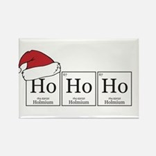 Ho Ho Ho [Chemical Elements] Rectangle Magnet