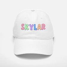Skylar Rainbow Pastel Baseball Baseball Cap
