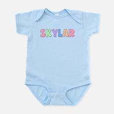 Skylar Rainbow Pastel Infant Bodysuit
