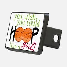 Hoop Like A Girl Hitch Cover