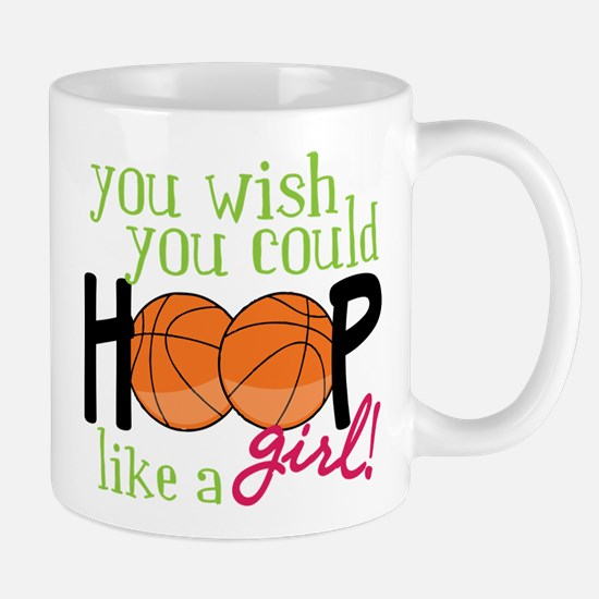 Hoop Like A Girl Mug