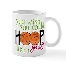 Hoop Like A Girl Small Mug